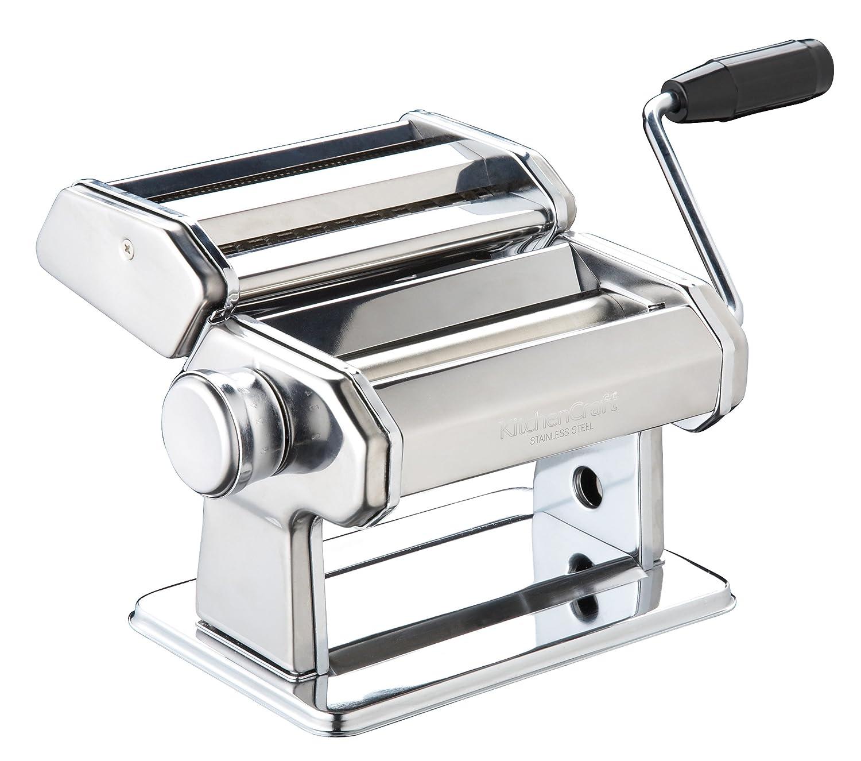 Kitchencraft Italian Maquina Cortadora de Pasta Acero Plateado xx cm