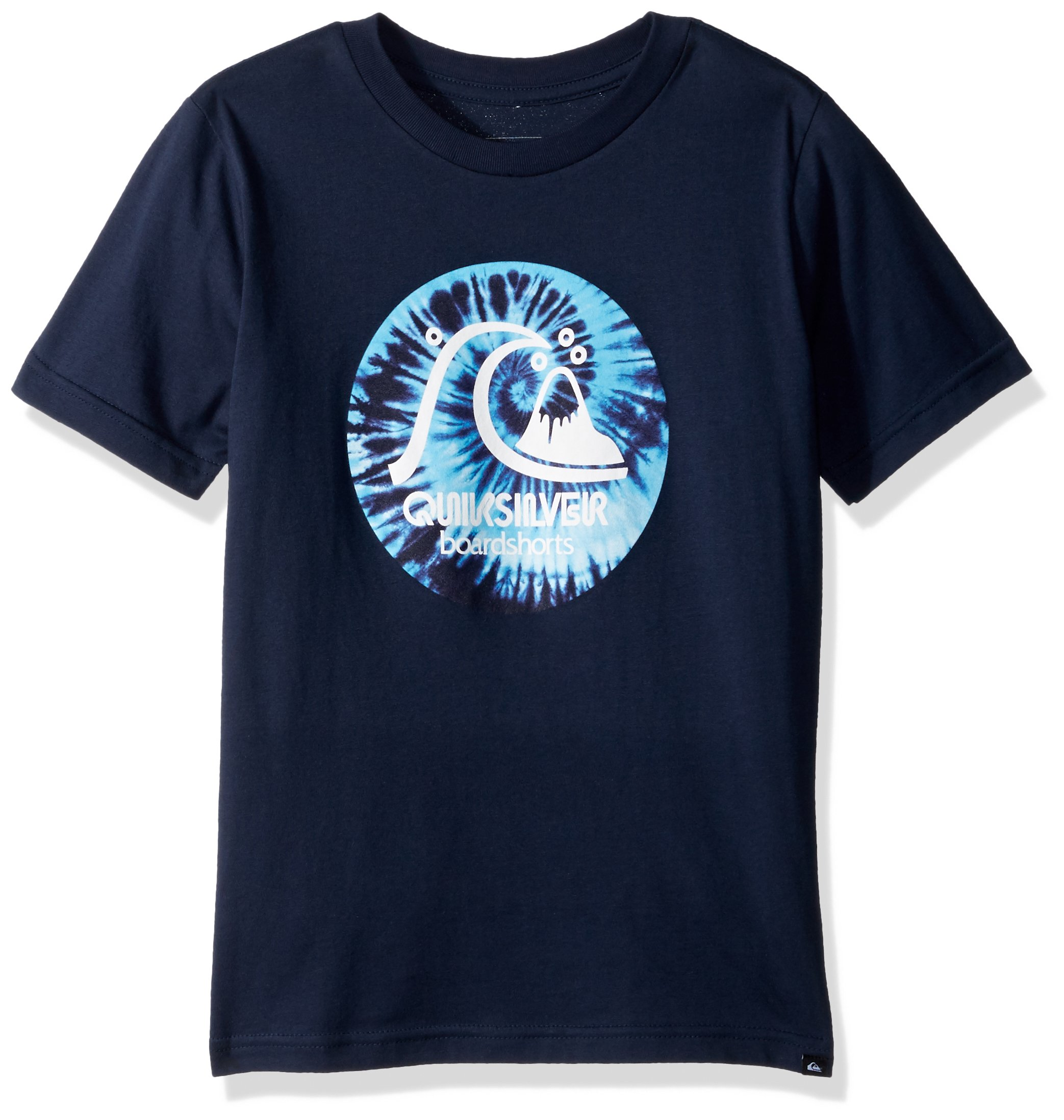 Quiksilver Big Boys' Original Light Youth Tee Shirt, Navy Blazer, L/14