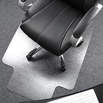 Floortex Polycarbonate Chair Mat with Lip