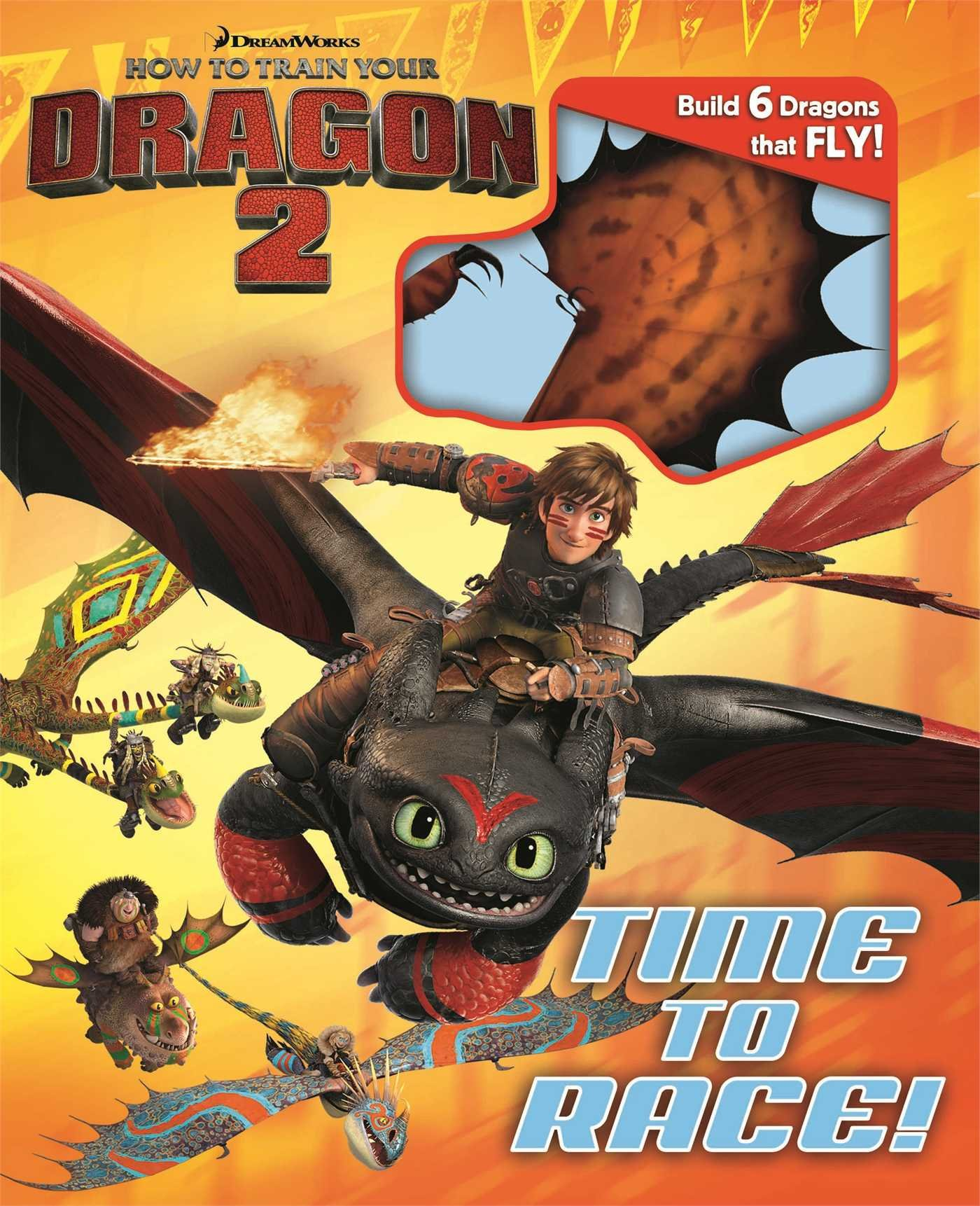 Dreamworks How To Train Your Dragon 2: Time To Race! (build It): Dreamworks  How To Train Your Dragon, Elizabeth Bennett: 9780794431112: Amazon:  Books