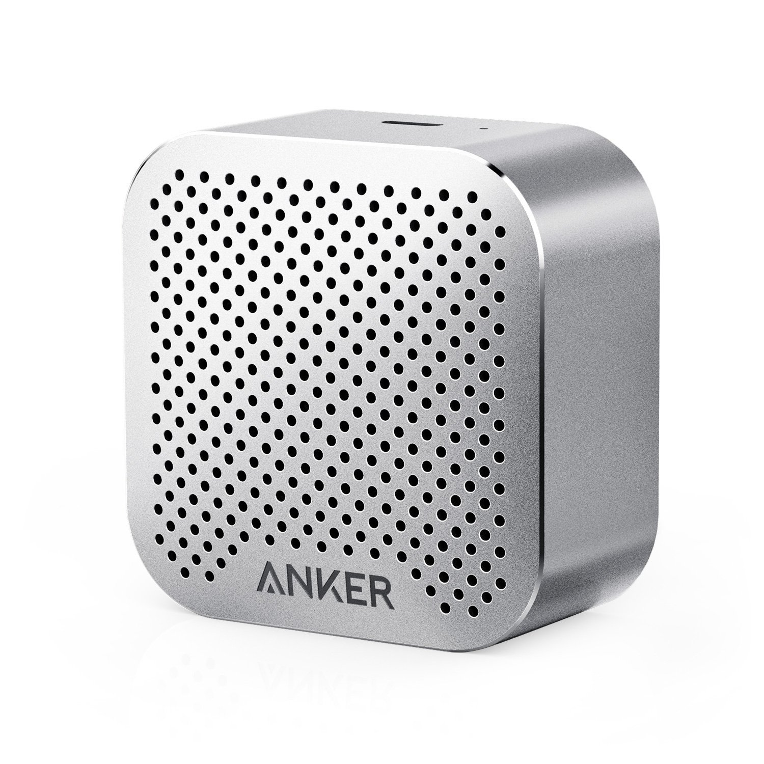 Anker SoundCore Nano Bluetooth Speaker Big Sound, Super-Portable Wireless Speaker Built-in Mic iPhone 7, iPad, Samsung, Nexus, HTC, Laptops More - Gray