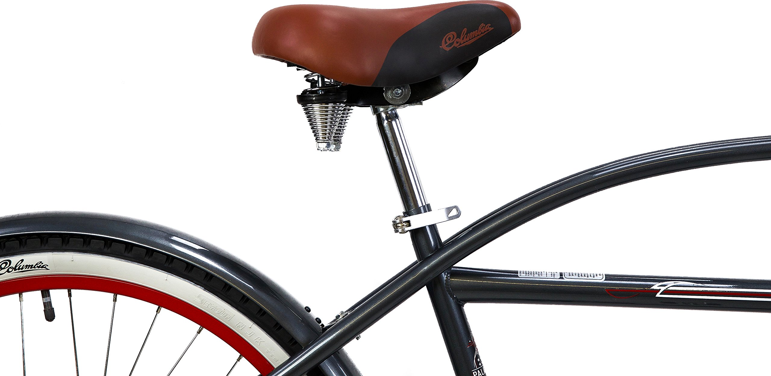 Columbia Palmetto 26-Inch Men's Single-Speed Vintage Cruiser by Columbia Bicycles (Image #3)