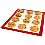 DoughEZ 11 x 16.5-Inch Silicone Fibermesh Non-Stick Baking Mat   Oven Safe Up to 480° F   Dishwasher Safe   BPA Free, FDA Approved Materials