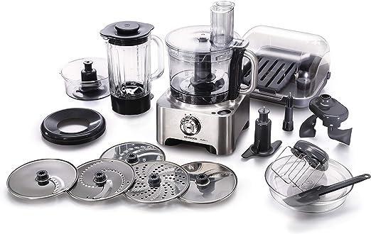 Kenwood FPM810 3.5 Litre 1000 Watt Multi-Pro Sense Food Processor, with Scales - Brushed Metal: Amazon.es: Hogar