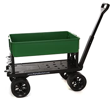 Amazoncom Mighty Max Cart All Purpose Utility and Garden Cart