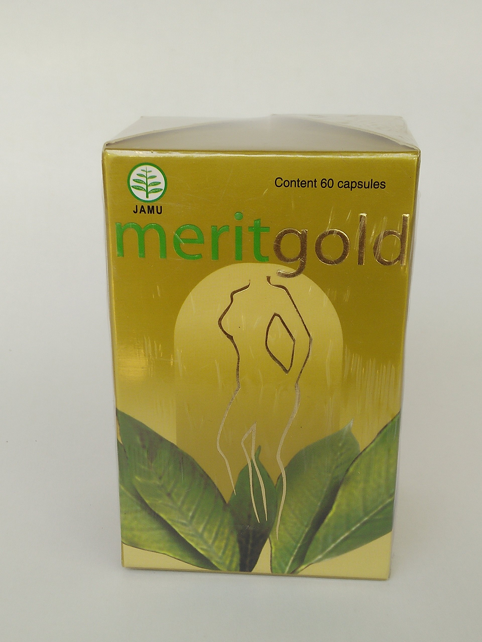 Merit Gold Weight Loss Dietary Supplement 60-Capsules, 1 Bottle