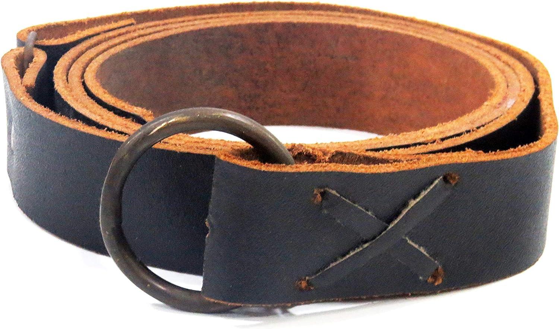 Mittelalter Y-Gürtel Brokat Borte schwarz braun rot oliv Medival Belt Larp SCA