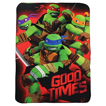 Teenage Mutant Ninja Turtles Fleece Throw: Amazon.es: Coche ...
