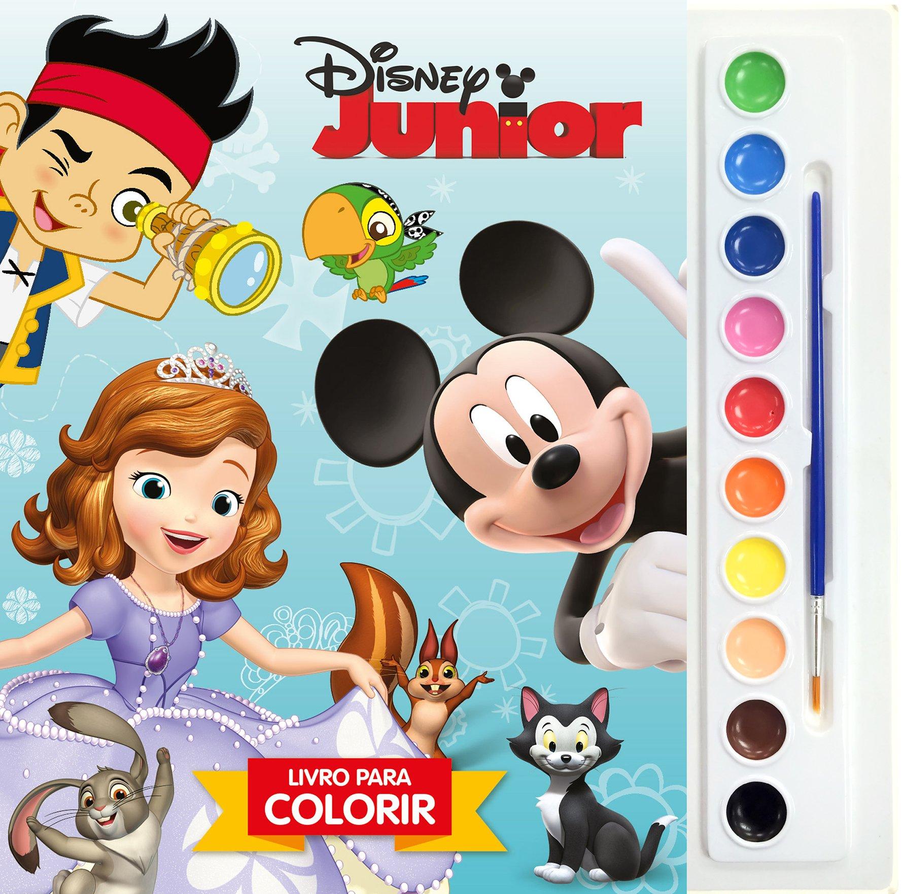 Disney Junior Volume 1 Colecao Aquarela Disney Varios Autores