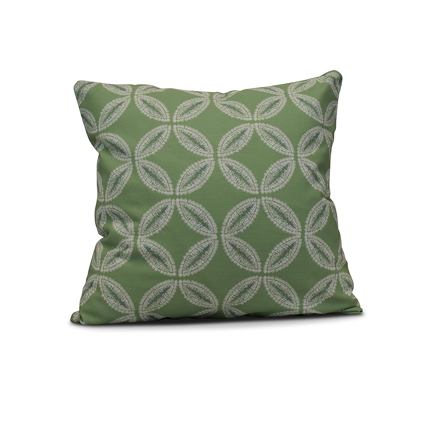 E by design Tidepool Geometric Print Outdoor Pillow 20' x 20' Lavender