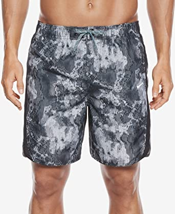 94f851ddd0 Nike Mens Dri Fit Swim Bottom Trunks Black L: Amazon.co.uk: Clothing