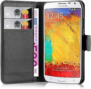Cadorabo Funda Libro para Samsung Galaxy Note 3 Neo en Negro ...