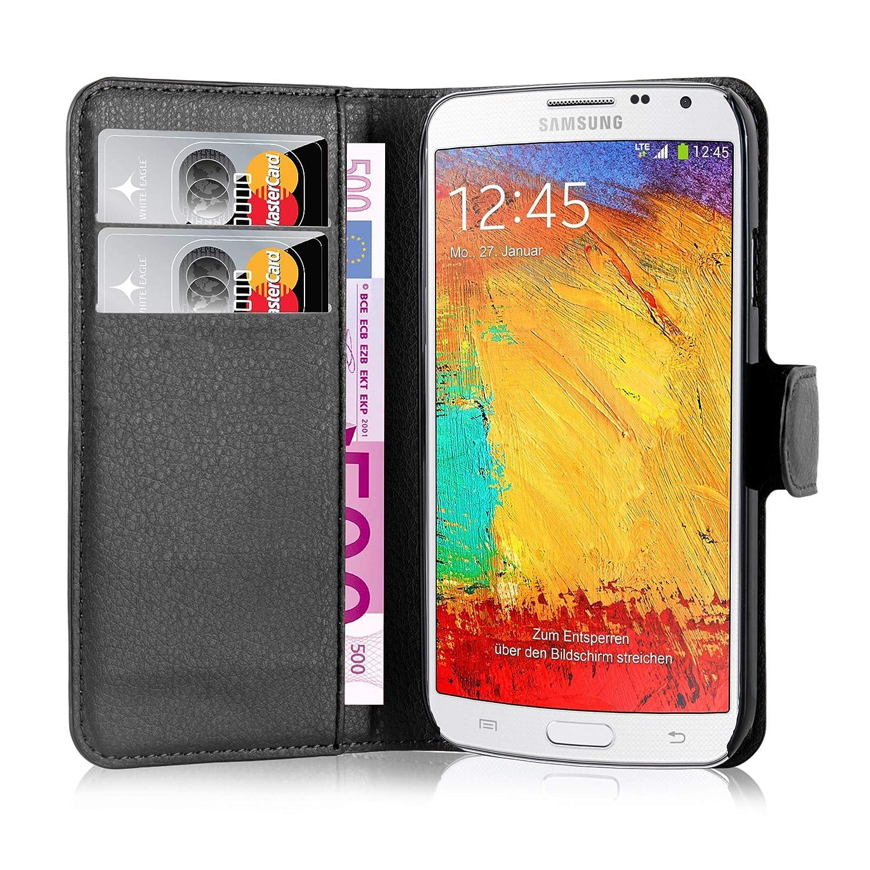 Cadorabo - Carcasa para Samsung Galaxy Note 3 Neo, Color Negro