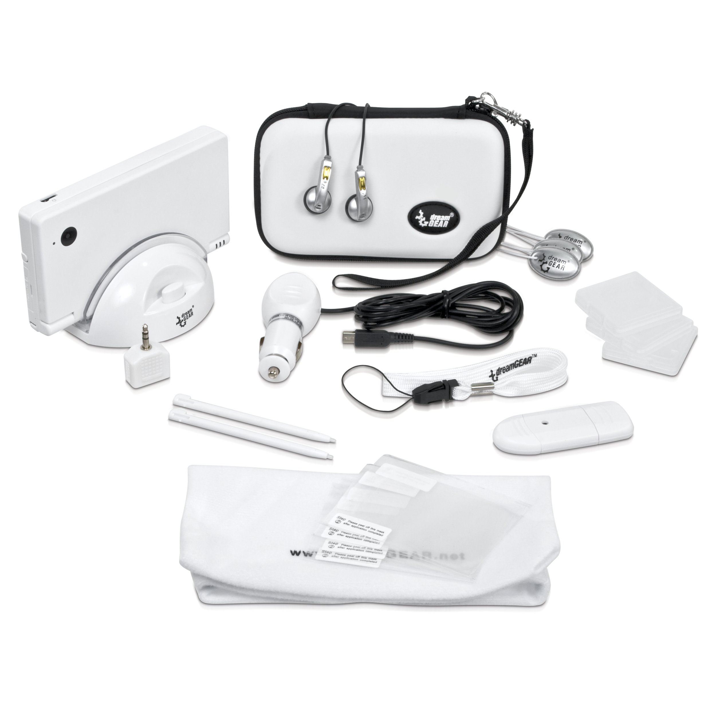 DSi -18-In-1 Starter Kit - White