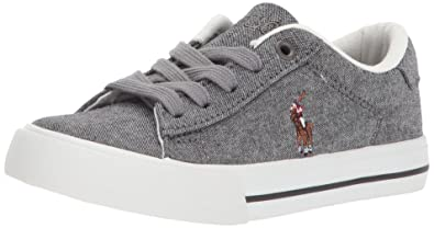 932c61af1 Polo Ralph Lauren Unisex Kids Easton II Sneaker  Buy Online at Low Prices  in India - Amazon.in
