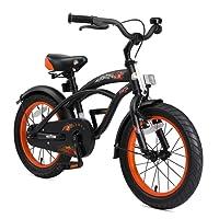 BIKESTAR Vélo Enfant Garcons Filles de 4-5 Ans ★ Bicyclette Enfant 16 Pouces Cruiser Freins ★