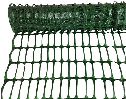 Rete In Plastica Per Cantiere.Rete Da Cantiere In Plastica Verde Rt H 1 8 Mt X 50 Mt Recinzione