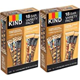 KIND Bars,Gluten Free (.Variety Pack, 36 Bars)