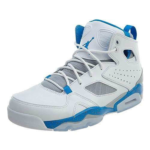 597b432f02240 Jordan Mens Jordan Fltclb '91 Leather Hight Top Lace Up Basketball Shoes