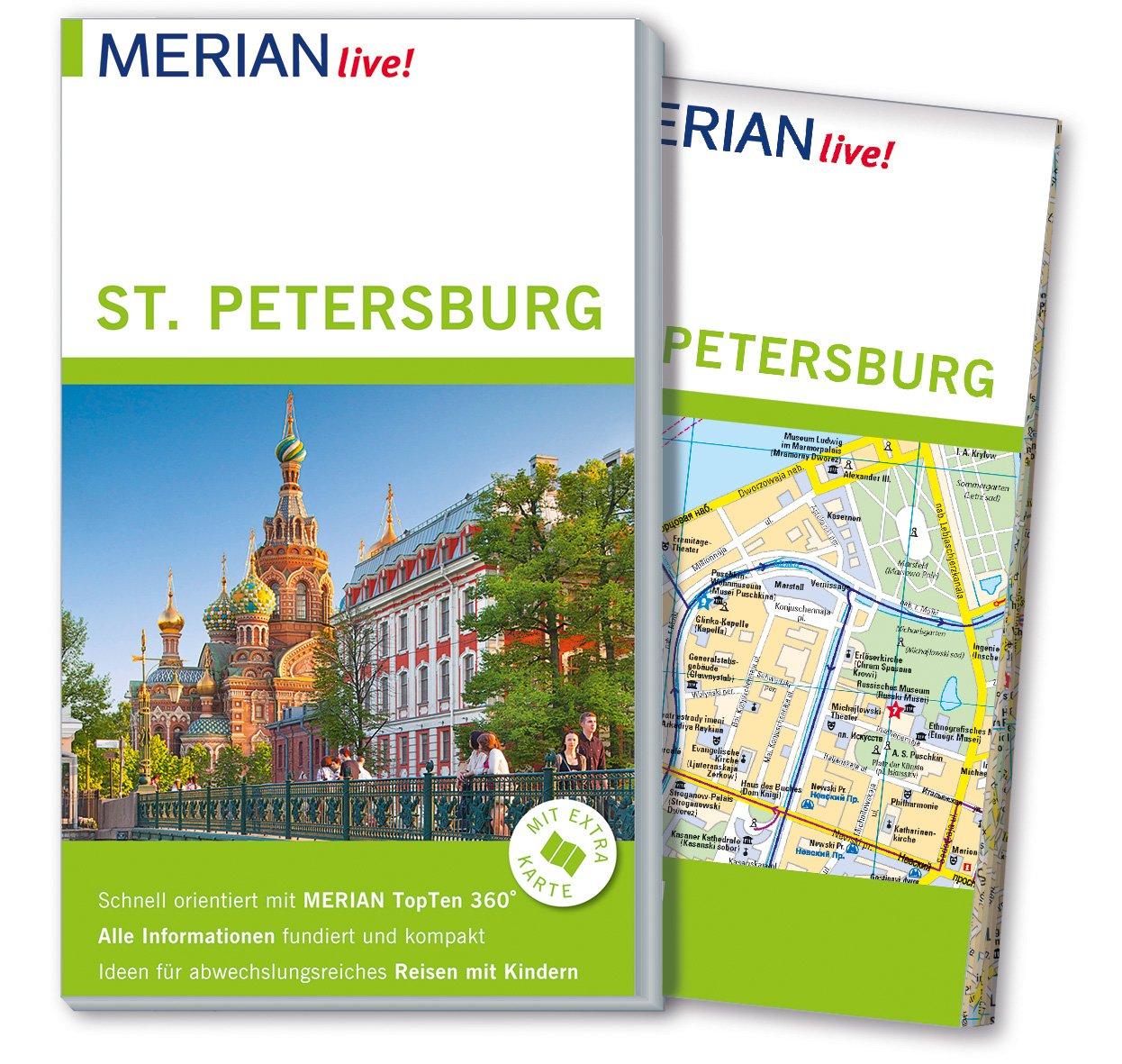 MERIAN live! Reiseführer St. Petersburg: Mit Extra-Karte zum ...