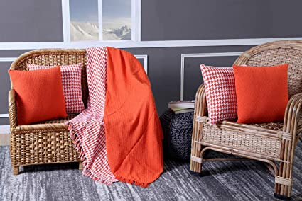Amazon SET OF 40 40% Cotton Throws Blankets For Couch Sofa Amazing Decorative Blankets And Throws