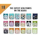 SALE! 18 KaWaii Baby One Size Printed Snap Pocket Diaper Shells