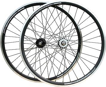 Woo Hoo Bikes ACCENT Roadrunner Ruedas de engranaje fijo Joytech Fixie Bicicleta de una sola velocidad (negro): Amazon.es: Deportes y aire libre