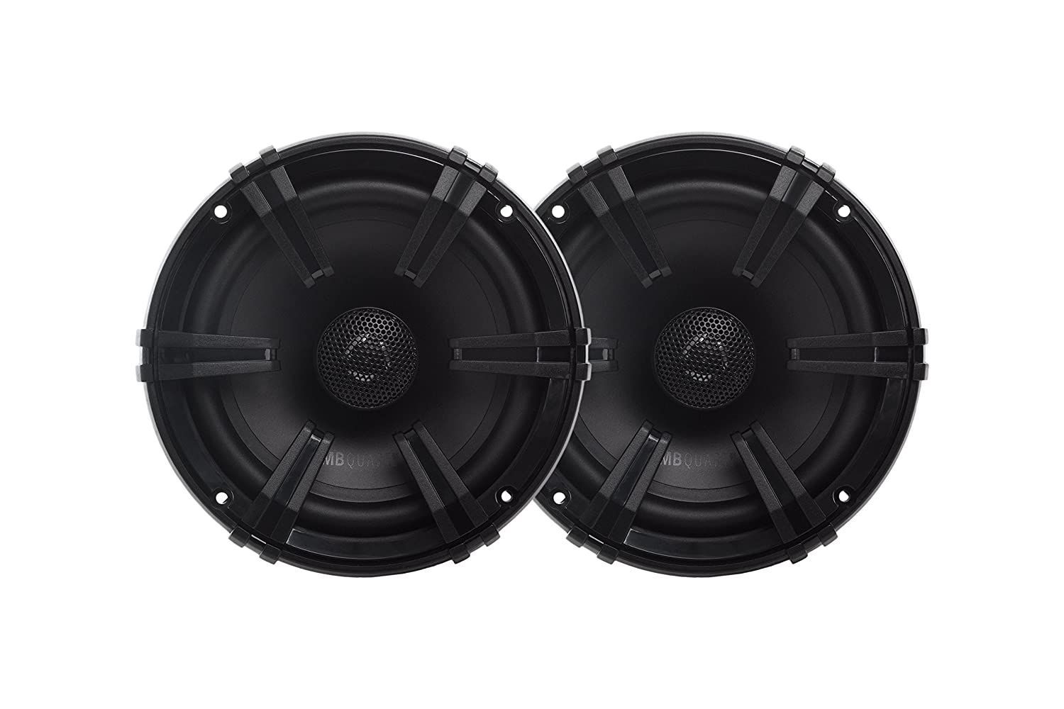 MB Quart DK1-116 Discus 2-Way Car Coaxial Speaker System with 0.75-Inch Aluminum Dome Tweeter on Silk Surround, 6.5-Inch, Set of 2 Maxxsonics USA Inc.