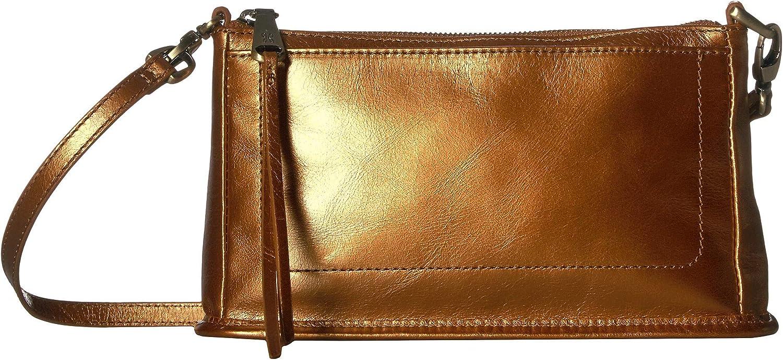 Hobo Cadence Metallic Leather Crossbody