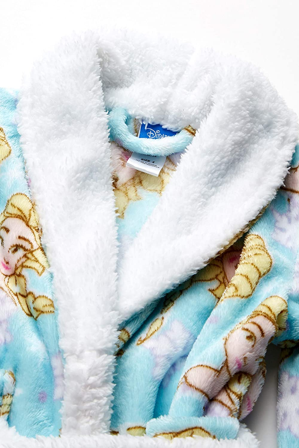 Disney Girls Frozen 2 Elsa Luxe Plush Robe Bathrobe