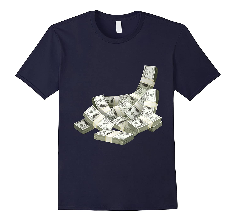 Elite T-Shirt Designs Cash Money T-Shirt-TD
