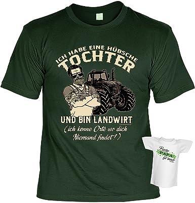 Papa Tochter Spruche Tshirt Vater T Shirt Geburtstag Geschenk
