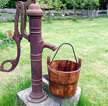 Antikas - Mittelalterliche Brunnen Eimer Holz, Eimer Mittelalter ...