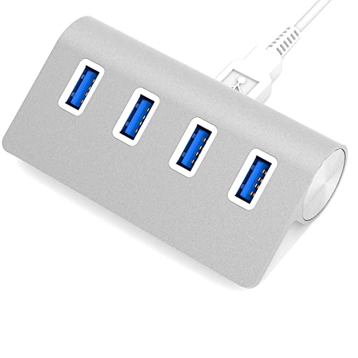 38 opinioni per Sabrent 4 PORT ALUMINUM USB 3.0 HUB USB 3.0 (3.1 Gen 1) Type-A 5000Mbit/s Bianco