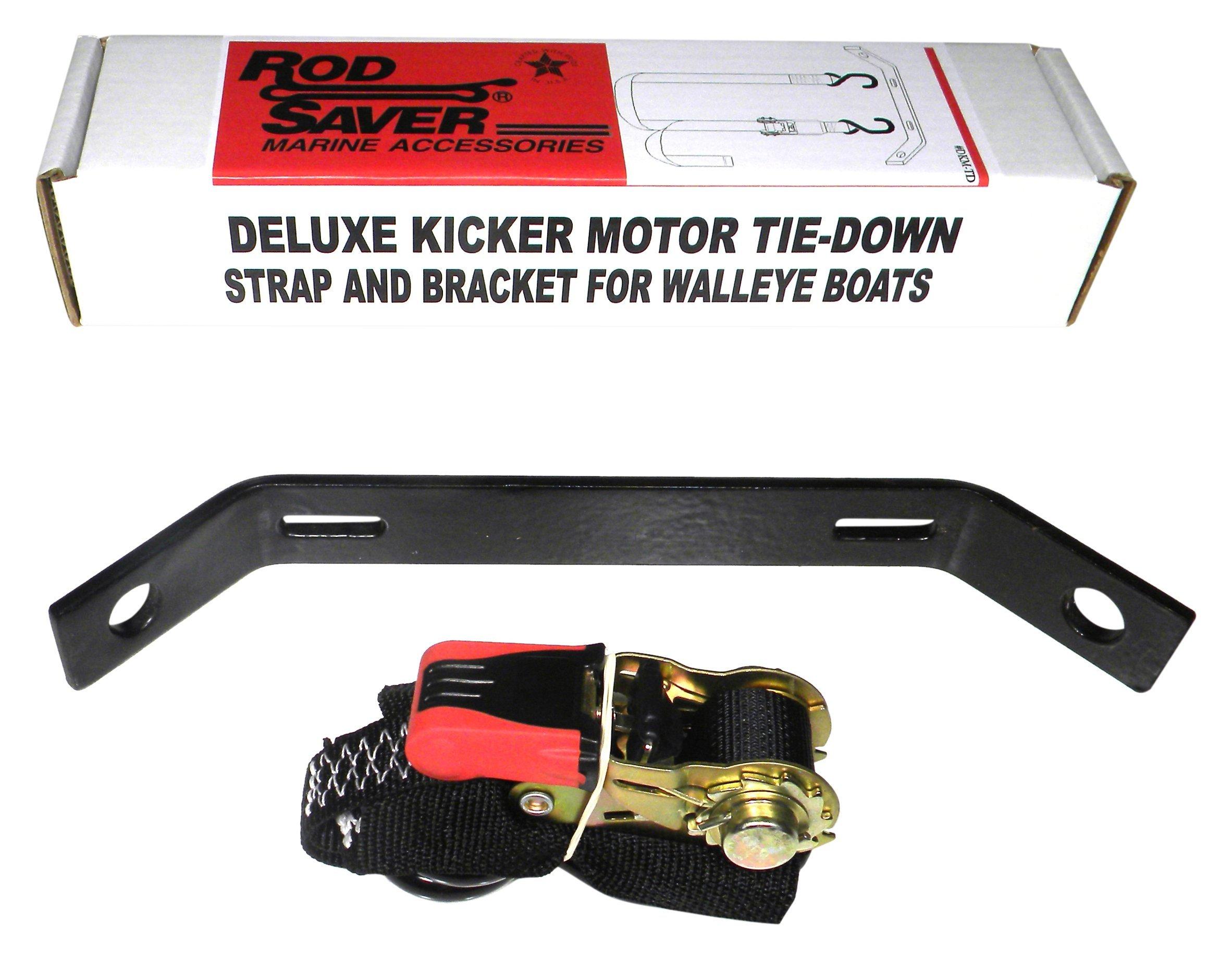 Rod Saver DKMS Marine Deluxe Kicker Motor Tie Down Strap by Rod Saver
