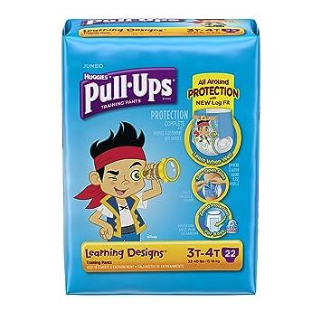 Huggies Pull-Ups Training Pants - Learning Designs - Boys - 3T-4T - 22 ct
