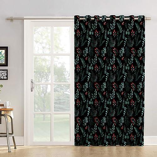 Futuregrace Room Darkening Curtain 96 inches Length Window Treatment Blackout Drape
