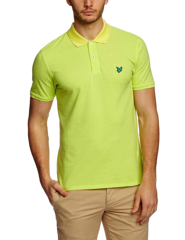 Club Green Eagle Men's Short Sleeve Mini-Poloshirt Colour Block