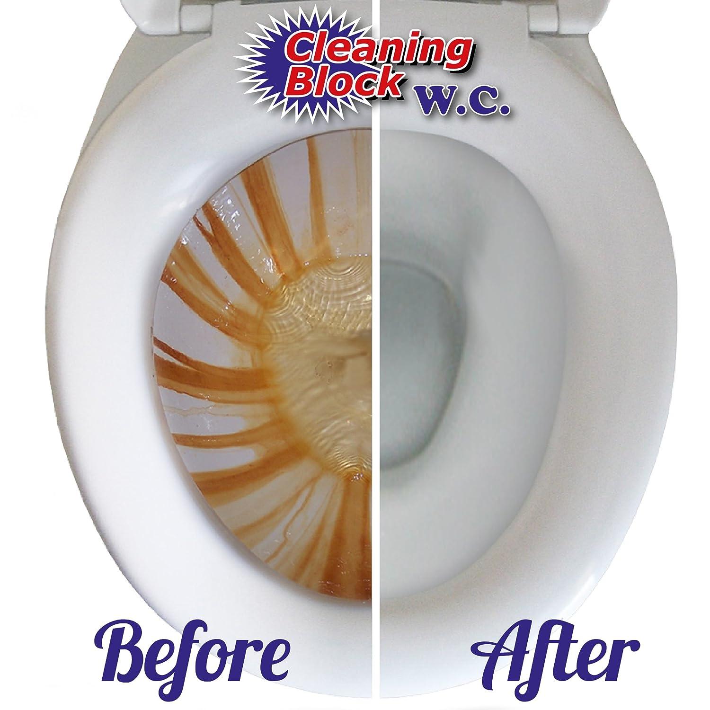 Cleaning Block WC, Toilette-Reinigungsstein mit Griff: Amazon.de ...