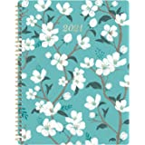 """2021 Planner - Weekly & Monthly Planner with Inner Pocket, 8""""X10"""",Jan to Dec, Flexible Cover, Monthly Tabs, 21 Extra Pages,Tw"""