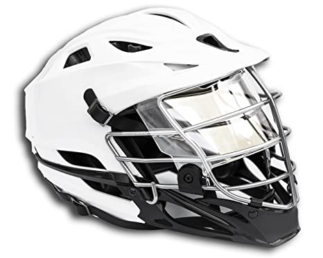 640a45482 EliteTek LAX Lacrosse Visor Eye Shield fits Cascade Helmets (Clear, Model 1)