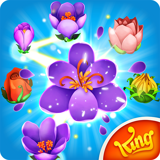 Blossom Blast Saga (Soda Candy Free Crush Game Saga)