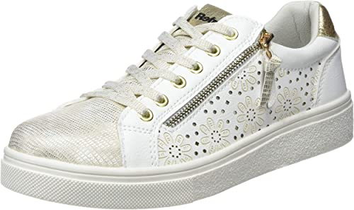 REFRESH 69953, Scarpe da Ginnastica Basse Donna, Bianco (Bianco Bianco), 39  EU: Amazon.it: Scarpe e borse