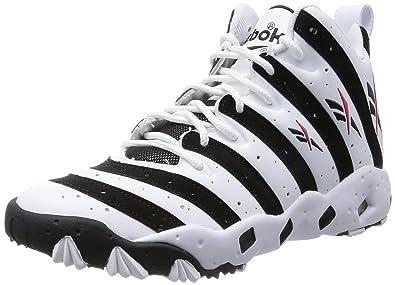 8dad69947744 Reebok Mens Big Hurt Tech 90s Shoes Athletic Trainers Frank Thomas V55132  (9)