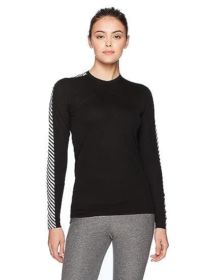 ef9d0dc8c7 Amazon.com: Helly Hansen Women's LIFA Stripe Crew Neck Long Sleeve ...