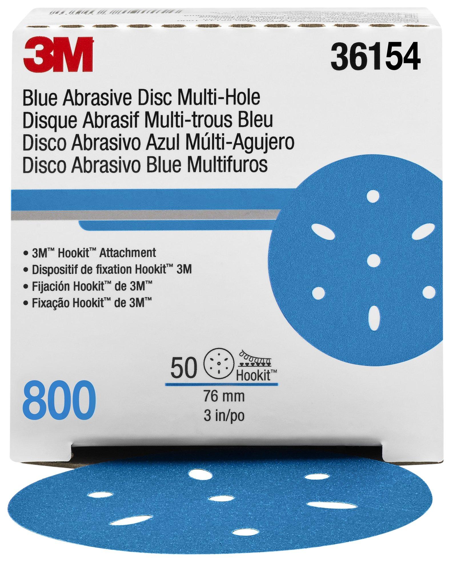Hookit 36154 Blue Abrasive Disc
