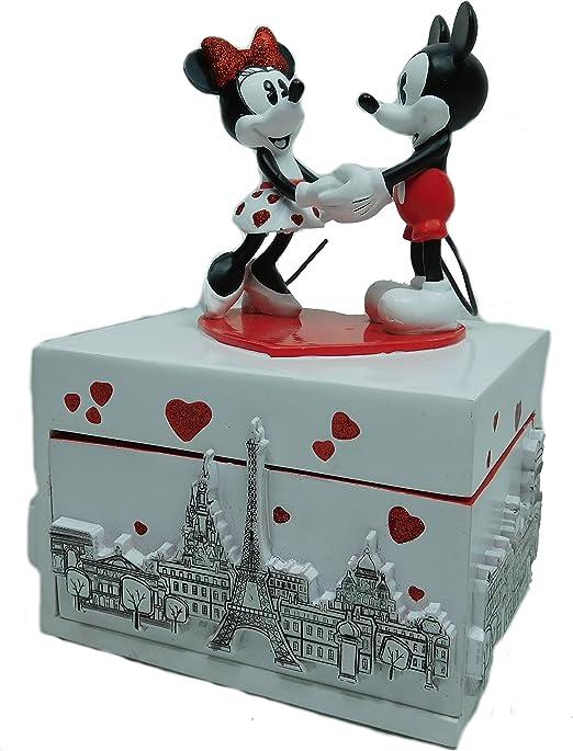 Disney Disney Disney - Caja de música, diseño de Mickey y Minnie ...