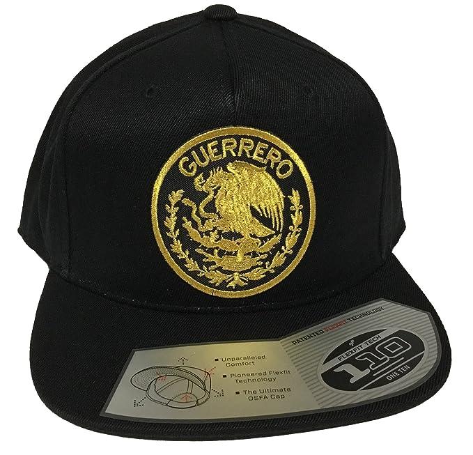 185924a06 Guerrero Logo Federal Hat Black Snapback Tech 110 at Amazon Men's ...