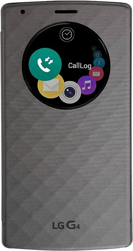 LG CFV-100.AGEUSV - Funda para LG G4, plateado: Amazon.es: Electrónica