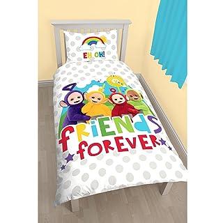 Teletubbies Childrens/Kids Official Playtime Reversible Single Duvet (Twin) (Multicoloured) UTKB922_1